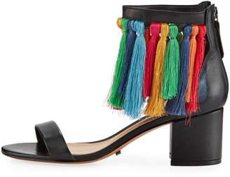 Schutz Keema Tasseled Sandals