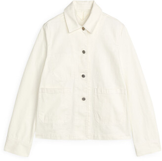 Arket Cotton Twill Workwear Jacket