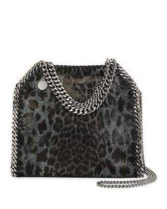 Stella McCartney Mini Leopard Falabella Tote Bag