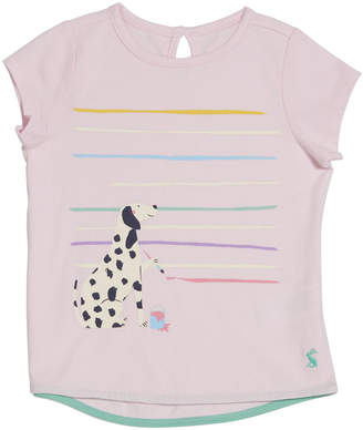 Joules Pixie Dalmatian Dog Graphic Tee, Size 2-6