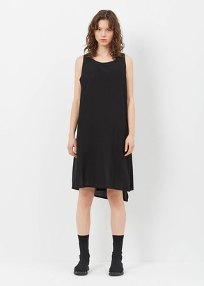 Yohji Yamamoto black back drape dress $1,541 thestylecure.com