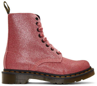 Dr. Martens Pink Glitter 1460 Pascal Boots
