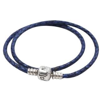 Pandora Blue Leather Bracelets