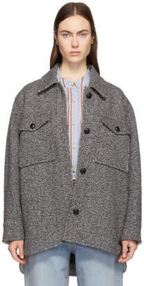 Etoile Isabel Marant Grey Garvey Coat