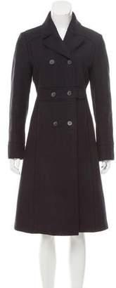 Philosophy di Alberta Ferretti Heavy Double-Breasted Wool Coat
