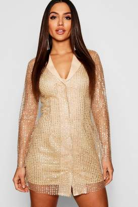 9ee25f6a7097 boohoo Gold Sequin Dresses - ShopStyle Australia
