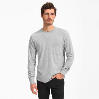 Everlane The Cotton Long-Sleeve Pocket