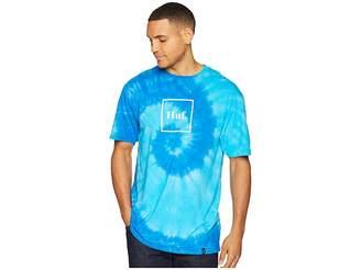 HUF Box Logo Tie-Dye Short Sleeve Tee