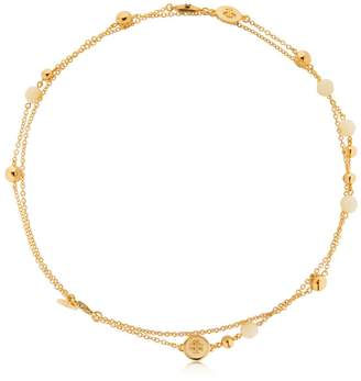 Tory Burch Logo Double Necklace