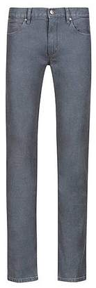 HUGO BOSS Slim-fit jeans in dark-grey stretch denim