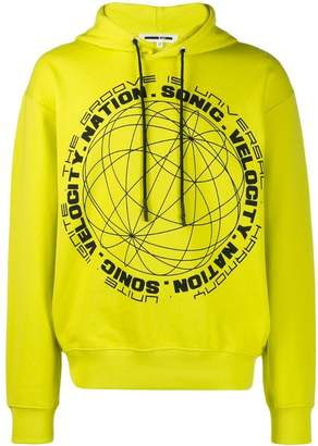 McQ graphic print hoodie