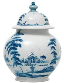 Juliska Country Estate Delft Blue 10 Lidded Ginger Jar