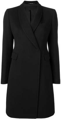 Tagliatore straight-fit coat