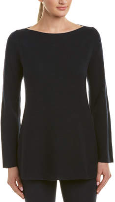 Lafayette 148 New York Relaxed Cashmere & Silk-Blend Sweater