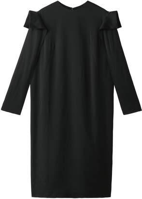 AKIRA NAKA (アキラ ナカ) - アキラ ナカ ロングスリーブデザインドレス
