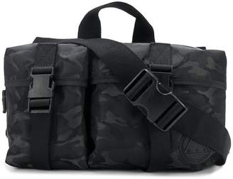 McQ camouflage print backpack