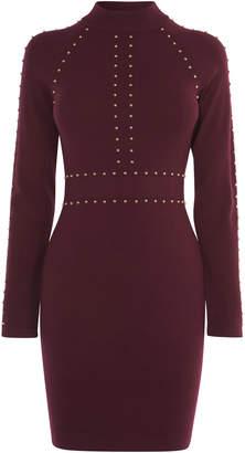 Karen Millen Stud Embellished Bodycon Dress