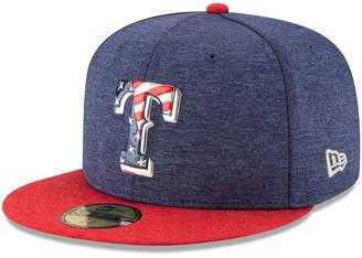 New Era Boys' Texas Rangers Stars & Stripes 59FIFTY Cap