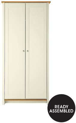Consort Furniture Limited Tivoli Ready Assembled 2 Door Wardrobe