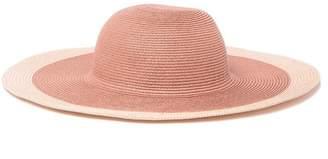 Nordstrom Rack Metallic Trim Floppy Hat