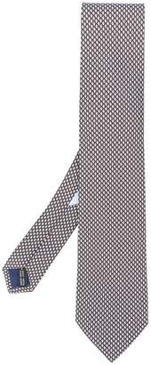 Salvatore Ferragamo Chestnuts mosaic tie