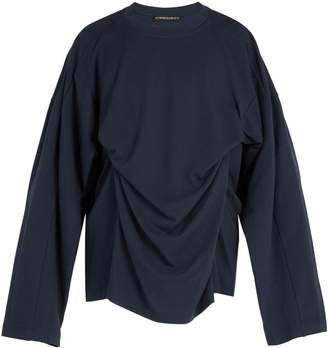Y/Project Double-layer modal and cotton-blend top