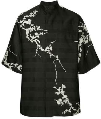 Haider Ackermann jacquard kimono shirt