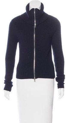 Sandro Long Sleeve Knit Jacket $95 thestylecure.com