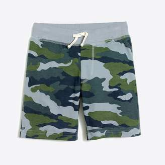 J.Crew Factory Boys' camo knit short