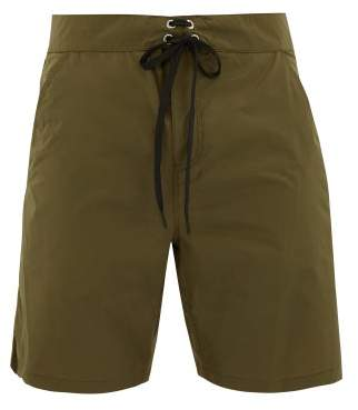 Solid & Striped The Longboard Swim Shorts - Mens - Green