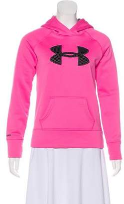 Under Armour Logo-Accented Hooded Sweatshirt