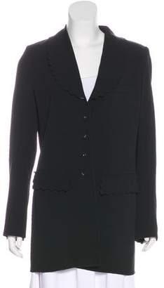Sonia Rykiel Notch-Lapel Long Sleeve Blazer