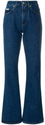 ALEXACHUNG Alexa Chung flared fitted jeans