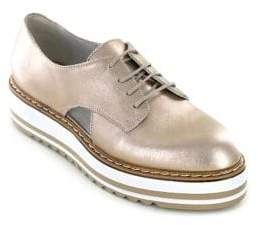 White Mountain Summit By Brody SI0287 Leather Platform Oxfords