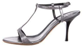 Giuseppe Zanotti Leather Ankle-Strap Sandals