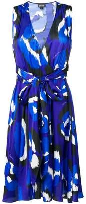 Just Cavalli abstract print midi dress