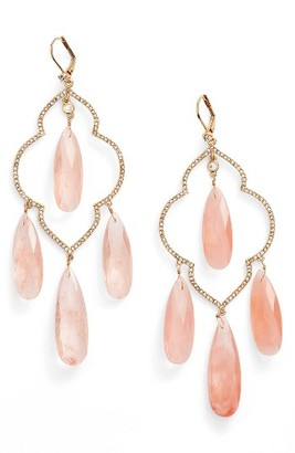 Women's Kate Spade New York Large Chandelier Earrings $148 thestylecure.com