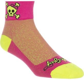 Sockguy SockGuy Skull Pop 2in Sock - Women's