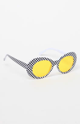 Pacsun Checkered Buggy Sunglasses