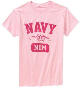 c7017701 HighVis Design Women's Navy Mom Short Sleeve Tee