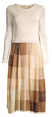 Trina Turk Women's Wine Country Cork Geometric-Print Midi Dress