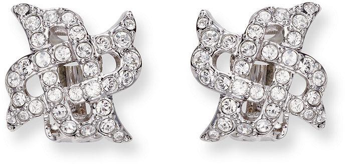 Swarovski Earrings, Diamanta Clip On Earrings