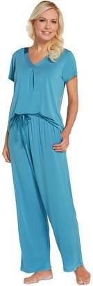 Carole Hochman Modal Spandex Satin Pajama Set