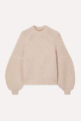Ulla Johnson Lucille Ribbed Alpaca-blend Sweater - Beige