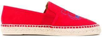 Kenzo Tiger embroidered espadrilles
