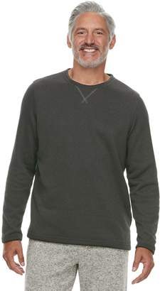 Croft & Barrow Men's Sweater Fleece Lounge Top