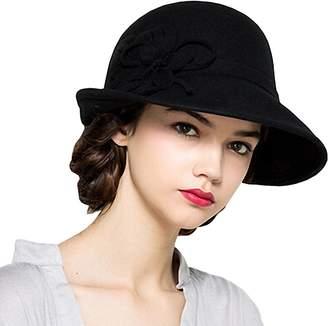 Church's Maitose® Women's Wool Felt Flowers Bowler Hats