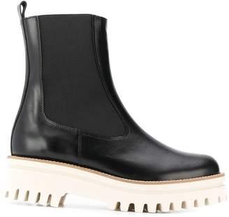 Paloma Barceló rubber sole Chelsea boots