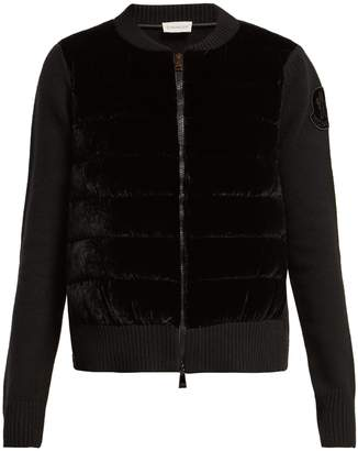 Moncler Maglione wool-blend cardigan