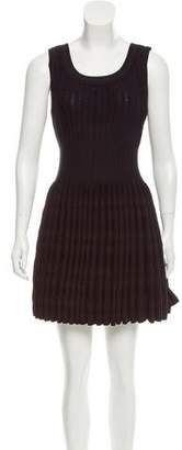 Alaia Matelassé Fit and Flare Dress w/ Tags